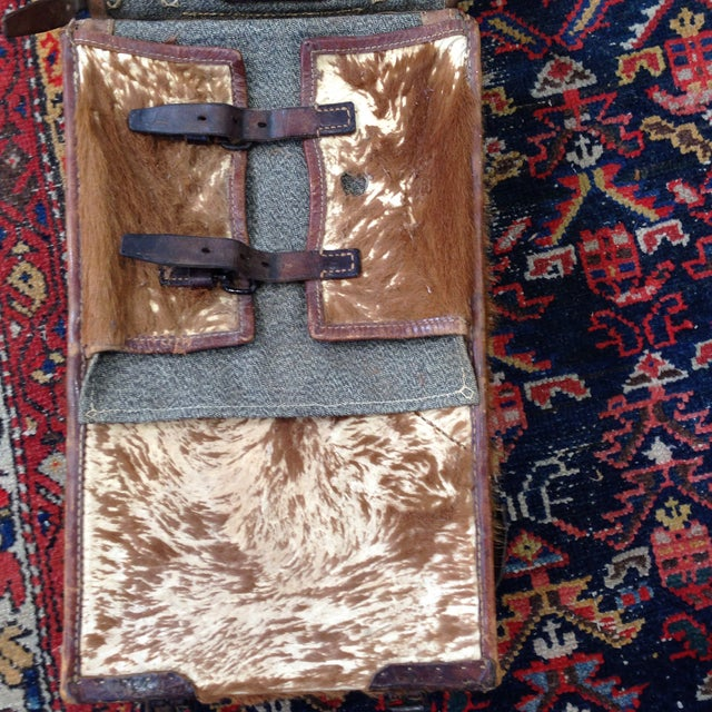 Image of Austrian Leather & Reindeer Skin Backpack