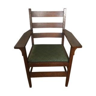 Gustav Stickley Antique Side Chair