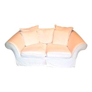 Pottery Barn Ivory 2-Seater Sofa