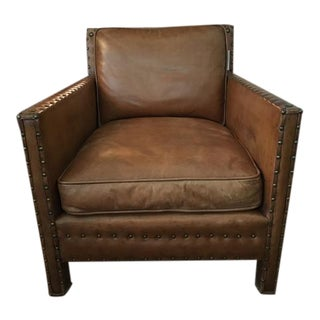 Ralph Lauren RLH Nailhead Club Chair