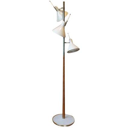 Tomas Moser for Lightolier Mid-Century Floor Lamp - Image 1 of 6