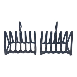 Grosvenor House Silverplate Toast Racks - a Pair