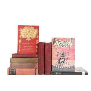 Opera Lover's Library - Set of 9