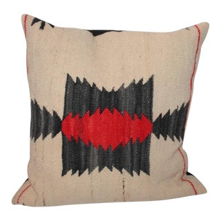Group of Geometric Navajo Indian Weaving Pillows