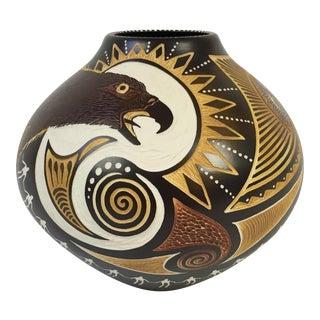 Steve Smith for Talking Earth Iroquois Vase
