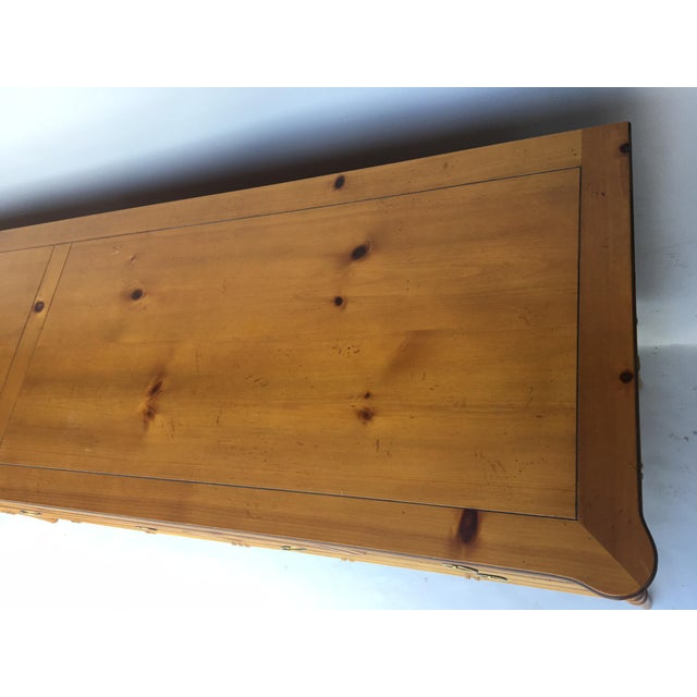 Baker Furniture Chinese Chippendale Bamboo Dresser - Image 4 of 8