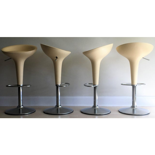 "Magis Chrome Adjustable ""Bombo"" Stools - Set of 4 - Image 3 of 11"