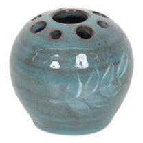 Vintage Turquoise Ceramic Ornament