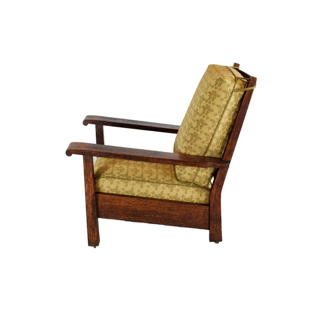 1903 Stickley Brothers Oak Armchair - Image 3 of 4