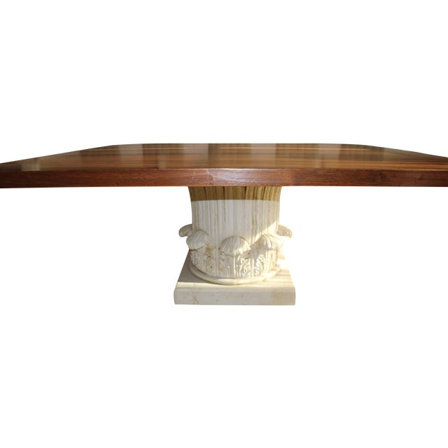 Custom Made Walnut Dining Table - Image 1 of 8