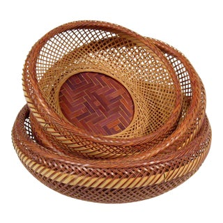 Japanese Nesting Baskets - Set of 3