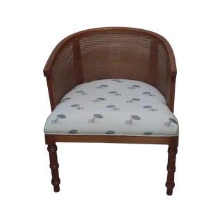 Wicker Barrel Chair