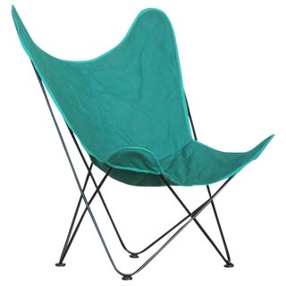 "Outdoor/Patio Butterfly ""Hardoy"" Chair by Jorge Ferrari-Hardoy for Knoll"