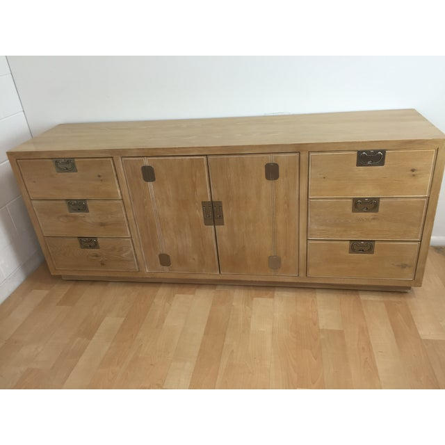 Washed Oak Henredon Dresser - Image 3 of 5