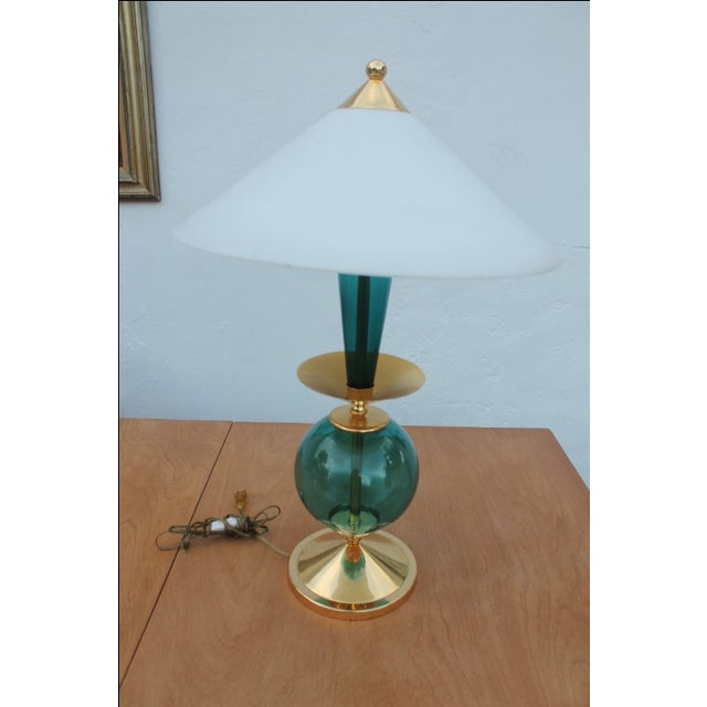 how to clean lacquered brass lamp