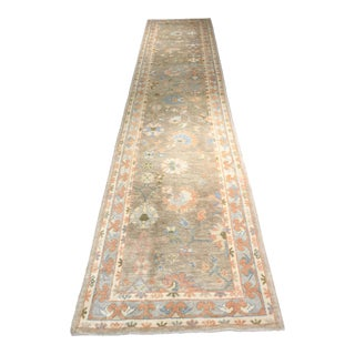 Bellwether Rugs Vintage Turkish Oushak Runner - 2'9 x 13'9""