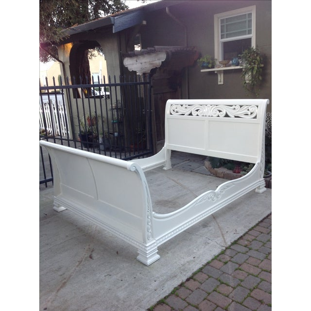 California King Sleigh Bed - Image 2 of 6