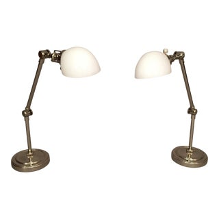 Restoration Hardware Desk Lamps- A Pair