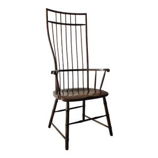 Windsor High Back Oak Arm Chair