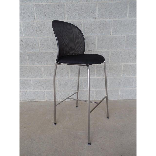 Christoph Hindermann Design for Davis Furniture Modern Bar Stools - Set of 3 - Image 4 of 10