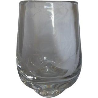 Orrefors Signed Crystal Glass Vase
