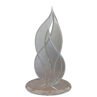 Abstract Lucite Sculpture