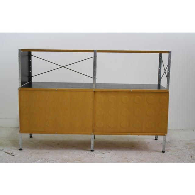 Image of Eames Herman Miller Storage Unit 2x2 w/ Doors