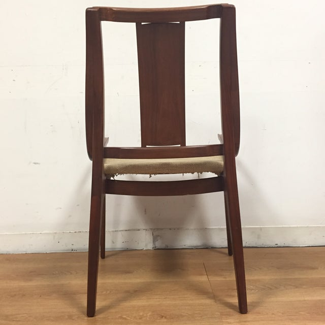 Glenn of California Mid Century Walnut Chair - Image 7 of 11