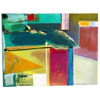 Doris Vlasek-Hails 'Color Construction' Painting