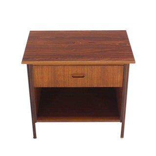 Danish Modern Teak End Table or Night Stand