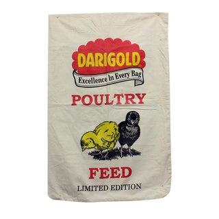 Vintage Darigold Chicken Feed Sack