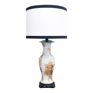 Antique Asian Gilt Lamp