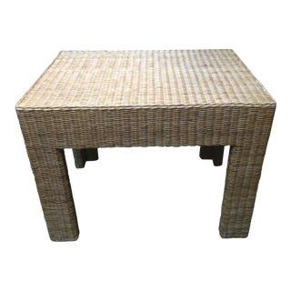 Michael Taylor Wicker Table