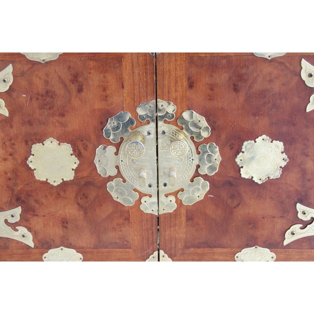 Asian-Style Butterfly Chests - Pair - Image 7 of 8