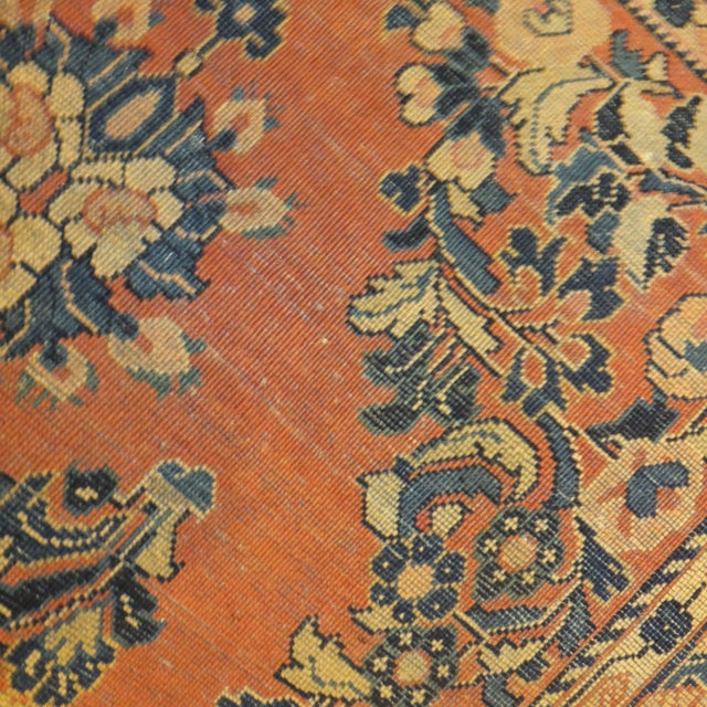 "Leon Banilivi Antique Persian Sarouk 6'6"" X 2'7"" - Image 3 of 4"