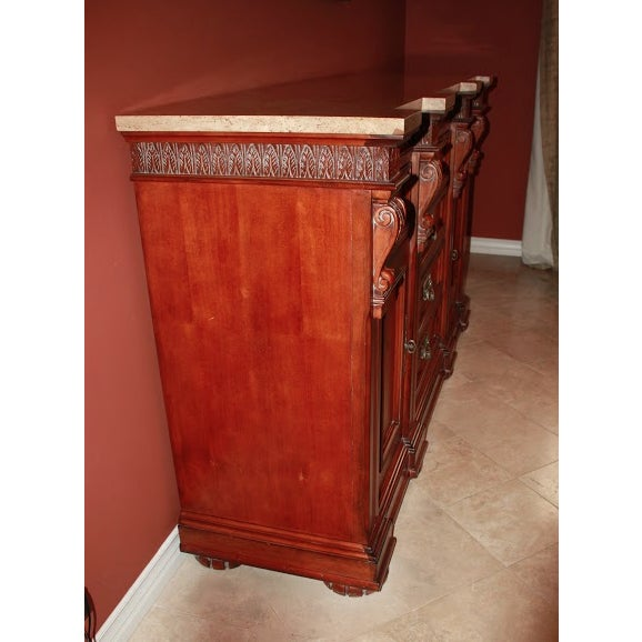Torrean Marble Top Buffet - Image 6 of 11