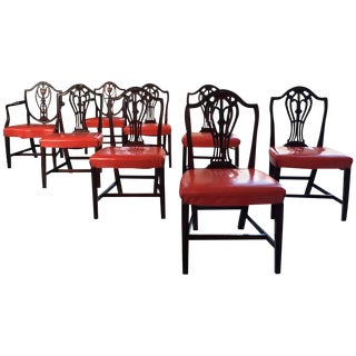 Hepplewhite Dining Chairs - Set of 8
