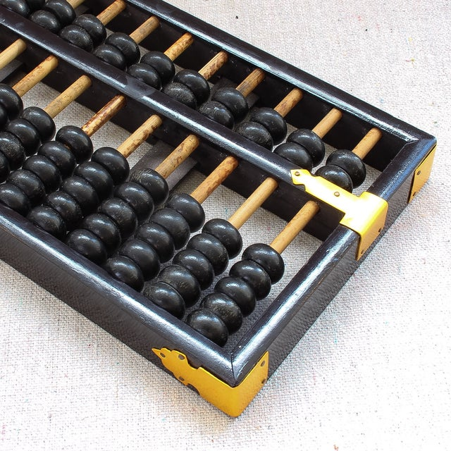 Vintage Chinese Wood Abacus - Image 5 of 6