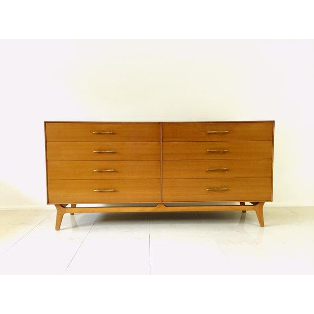 Image of Rway Maple Mid-Century Low Boy Dresser
