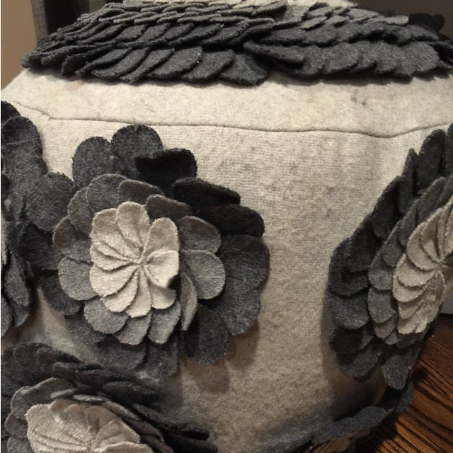 Image of Pouf Ottomans - A Pair
