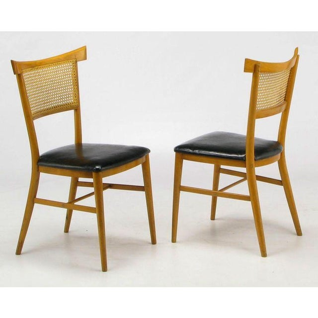 Four Paul McCobb Maple Perimeter Group Dining Chairs - Image 3 of 8