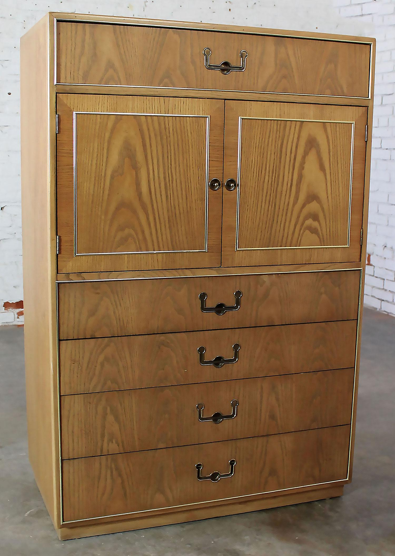 Founders Furniture Vintage Campaign Style Gentlemenu0027s Chest   Image 2 Of 11