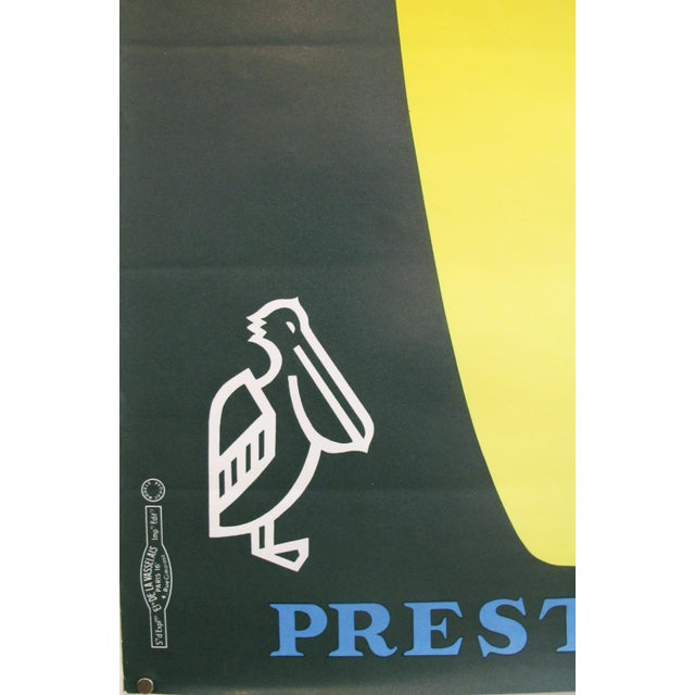 1960s French Vintage Pelforth Beer Poster - Image 4 of 5