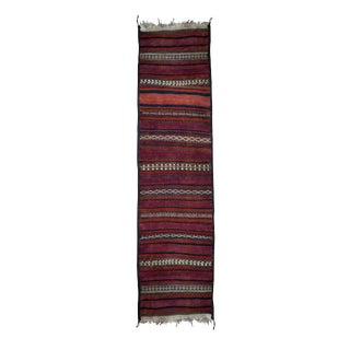 "Colorful Striped Runner Rug - 1'11"" x 7'8"""