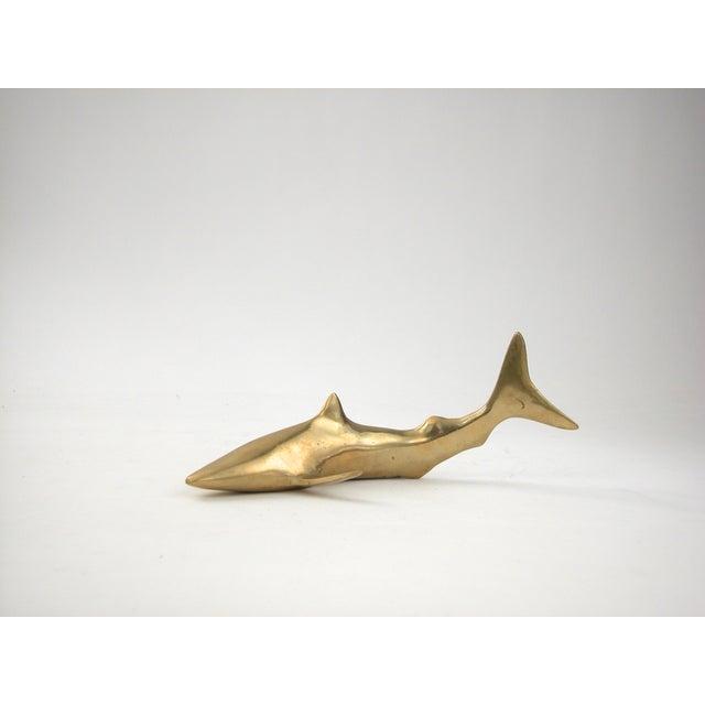 Image of Vintage Brass Shark