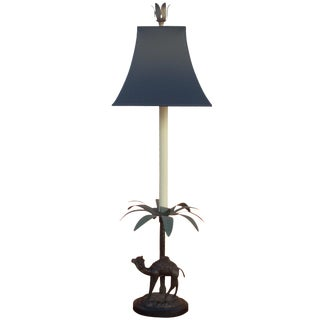 Camel and Palm Tree Lamp