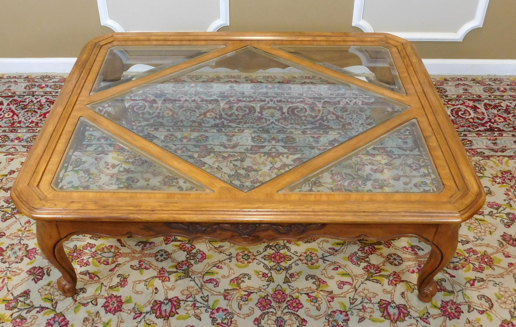 Drexel Heritage Cabernet Collection Coffee Table   Image 3 Of 9