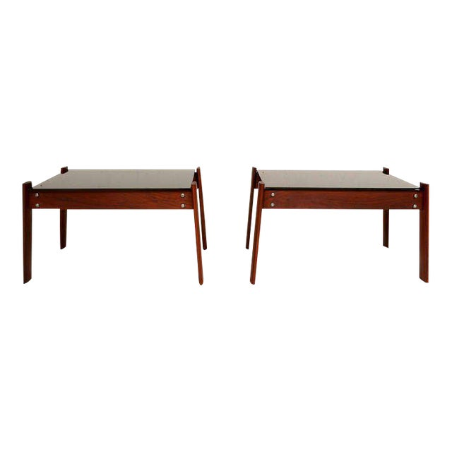 Pair of Percival Lafer Side Tables - Image 1 of 5