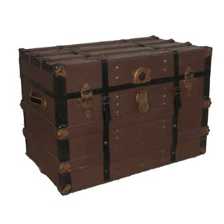 1910 Antique Utility Trunk