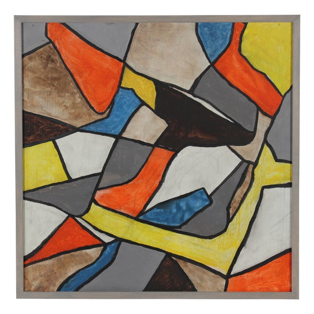 Mid Century Abstract Painting - Image 1 of 3